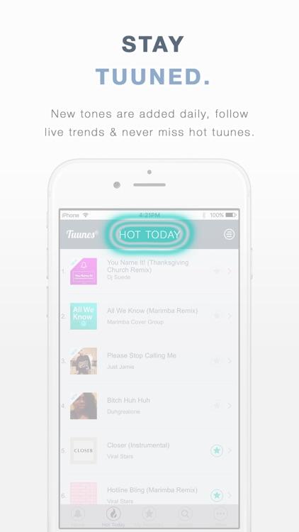 TUUNES™ Music Ringtones screenshot-4
