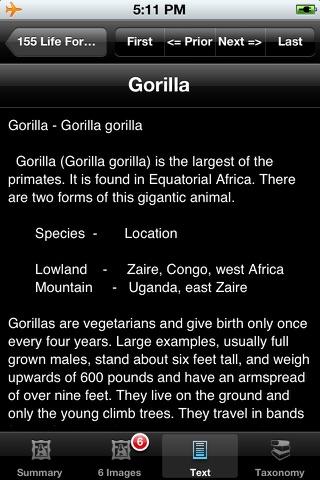 Mammals of Africa, Eurasia & Australia - Old World screenshot 4