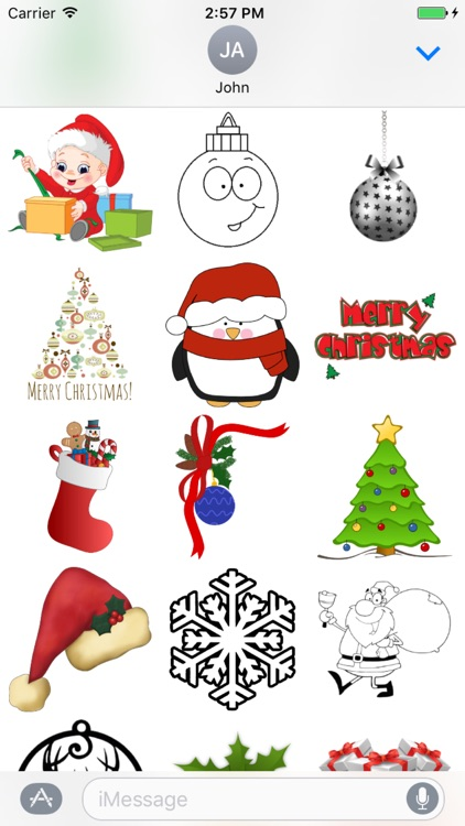 Christmas Stickers ++