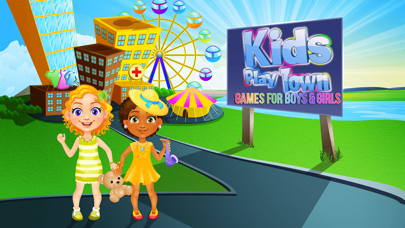 Kids Play Town - Games for Boys & Girls