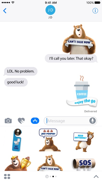 Charmin Pooptastic Stickers screenshot-2