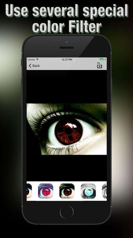 Sharingan Eye Photo Editor: Edition for Naruto - Online Game