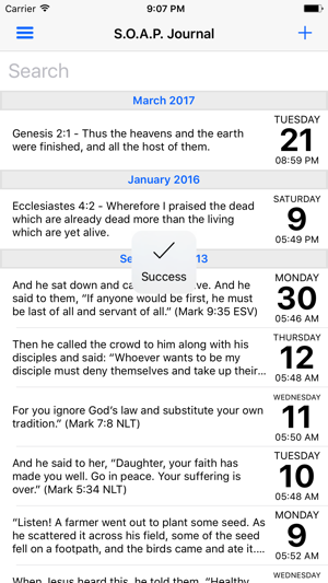 S O A P  - Your Bible Study Journal on the App Store