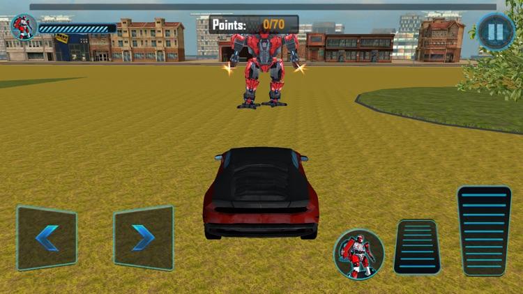 Futuristic Car Robot Rampage screenshot-4