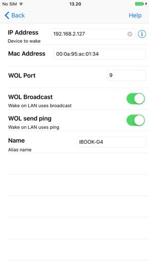 Mocha WOL on the App Store