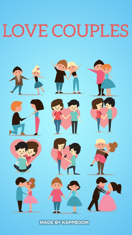 Couple Stickers by Kappboom