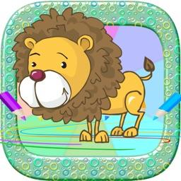 Cartoon Annimal : Drawing Games For Kids