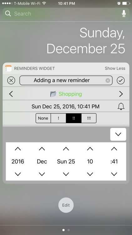 Reminders Widget screenshot-2