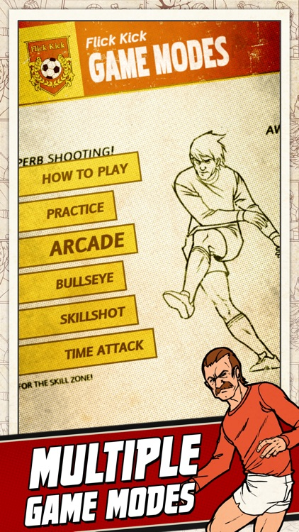 Flick Kick Football Kickoff screenshot-3