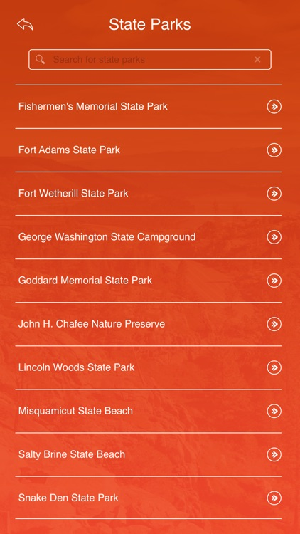 Rhode Island State Parks & Trails screenshot-2