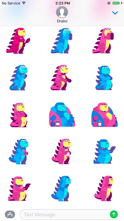 Drako Stickers screenshot-4