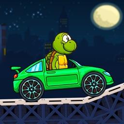 Turtle Racing Car Truck - Adventure Game