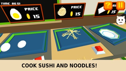 Pixel Sushi Restaurant Simulator screenshot two