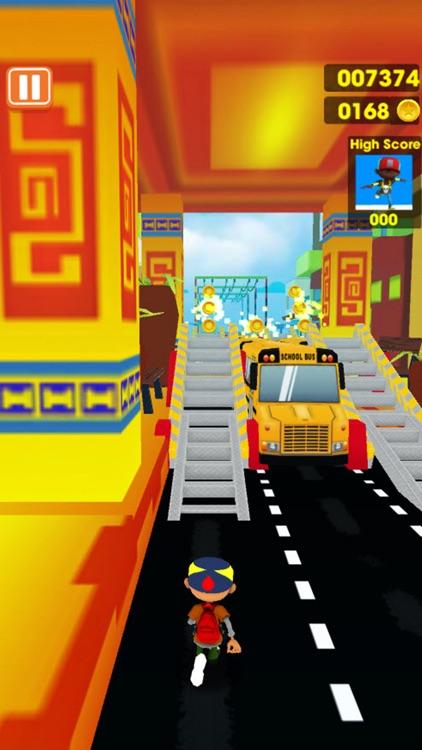 Train Surfers : Runer Dash On Road screenshot-3