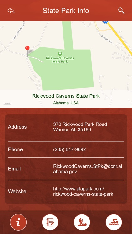 Alabama State Parks, Trails & Campgrounds screenshot-3