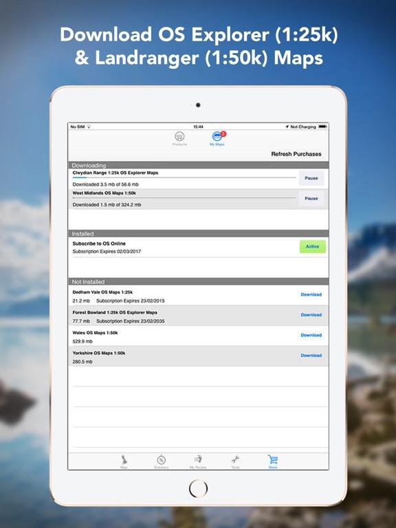 Outdoors GPS – Offline OS Maps Скриншоты10