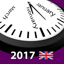 2017 UK Holiday Calendar