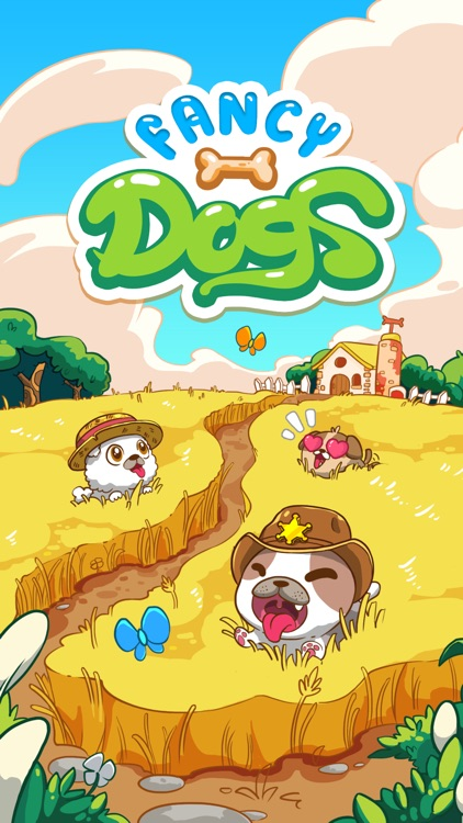 Fancy Dogs - Puzzle & Puppies screenshot-4