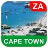 ケーフタウン、南アフリカ オフラインマッフ - PLACE STARS