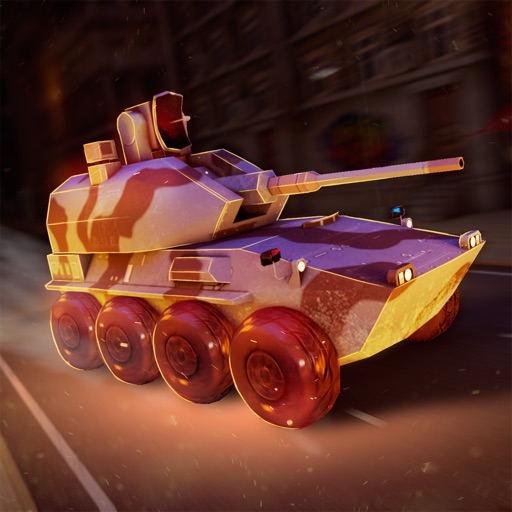 танки против роботов войны!