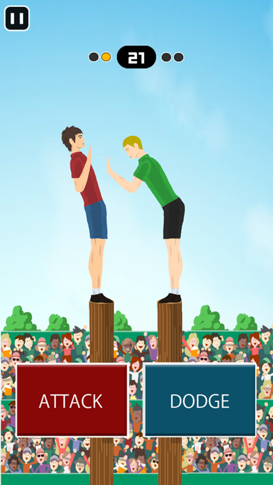 Pushing Hands -Fighting Game- screenshot 3