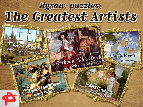 Игра Великие Артисты: Бесплатные Пазлы и Головоломки