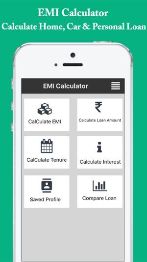 Emi Calculator Easy Emi Loan Interest Calculator On The App Store