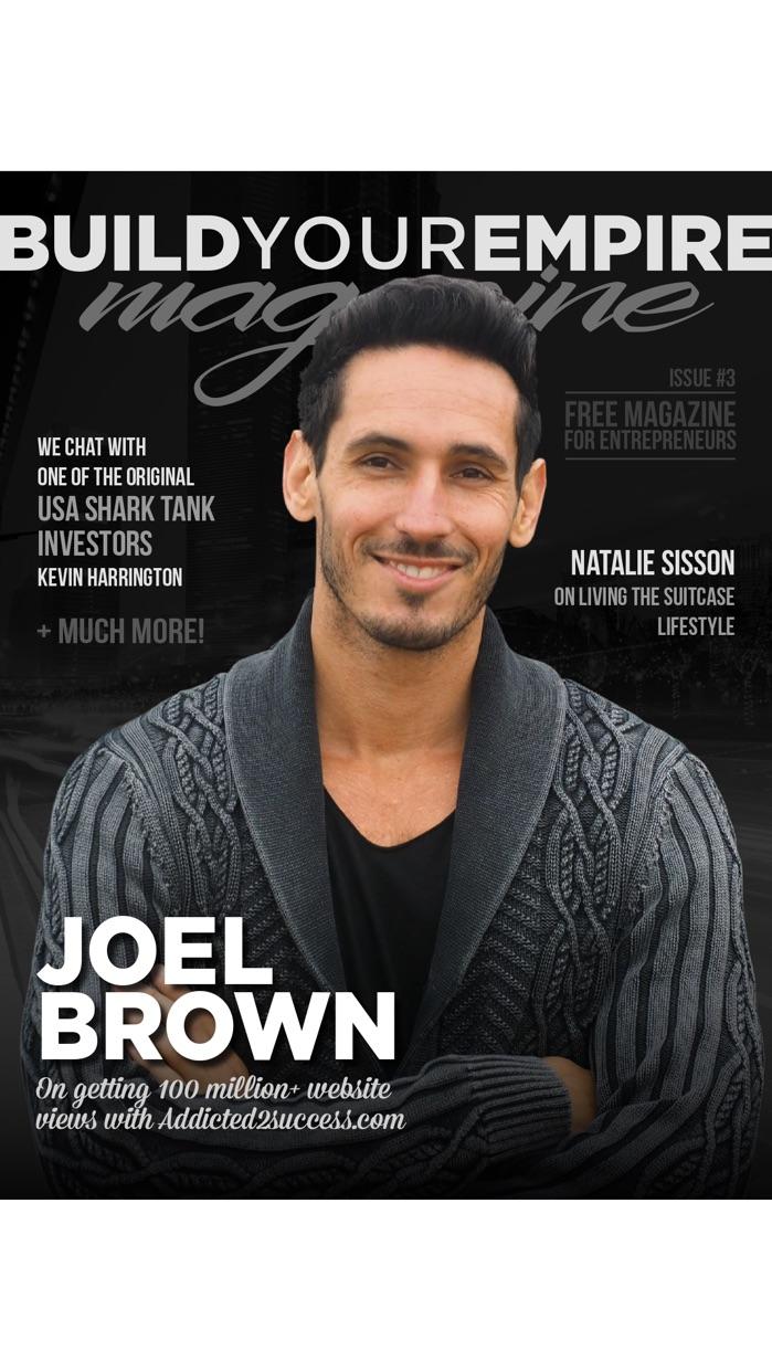 Build Your Empire - Free Mag for Entrepreneurs Screenshot