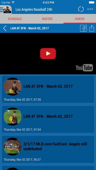Los Angeles Baseball 24h Screenshot on iOS