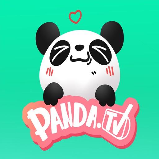 熊猫直播贴纸