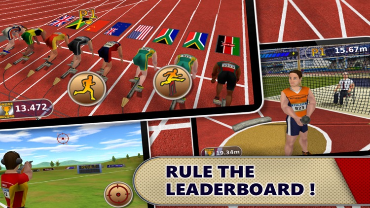 Athletics: Summer Sports screenshot-4