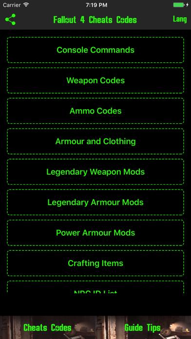 チート & 攻略 for フォールアウト4(Fallout 4) 無料 -のおすすめ画像1