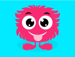 Lets make your conversations fun and interesting with little fluffy monster stickers pack