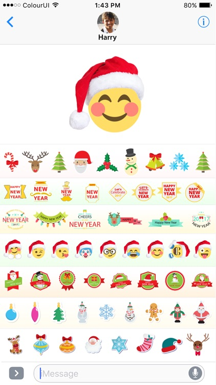 Stickers & Emojis For New Year