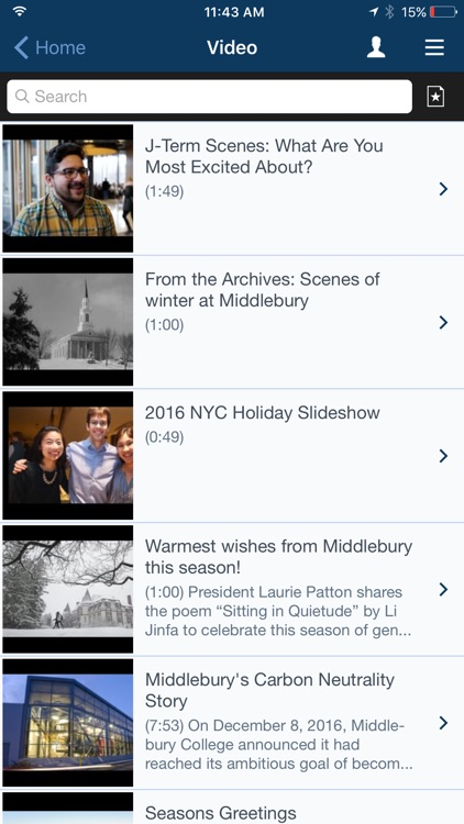 Middlebury College Mobile screenshot-3