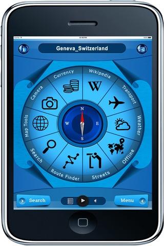 Geneva Switzerland - Offline Maps navigation - náhled