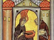 Hildegard Of Bingen Artworks Stickers