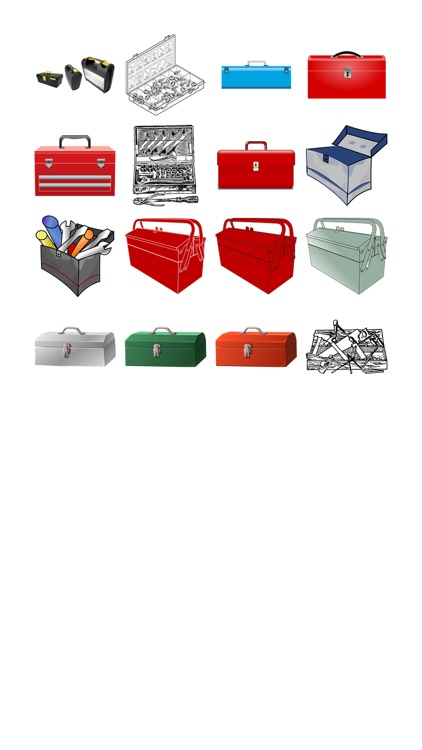 Toolboxes Sticker Pack