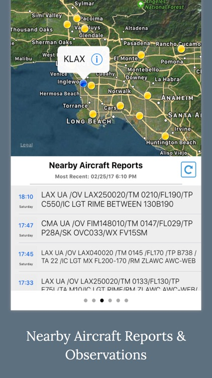Aviation Weather - METAR & TAFs Data screenshot-2