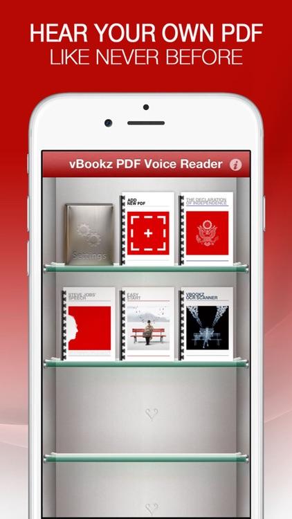 vBookz PDF Voice Reader US