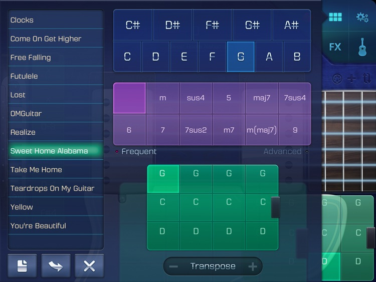 OMGuitar with FX and Autoplay screenshot-3