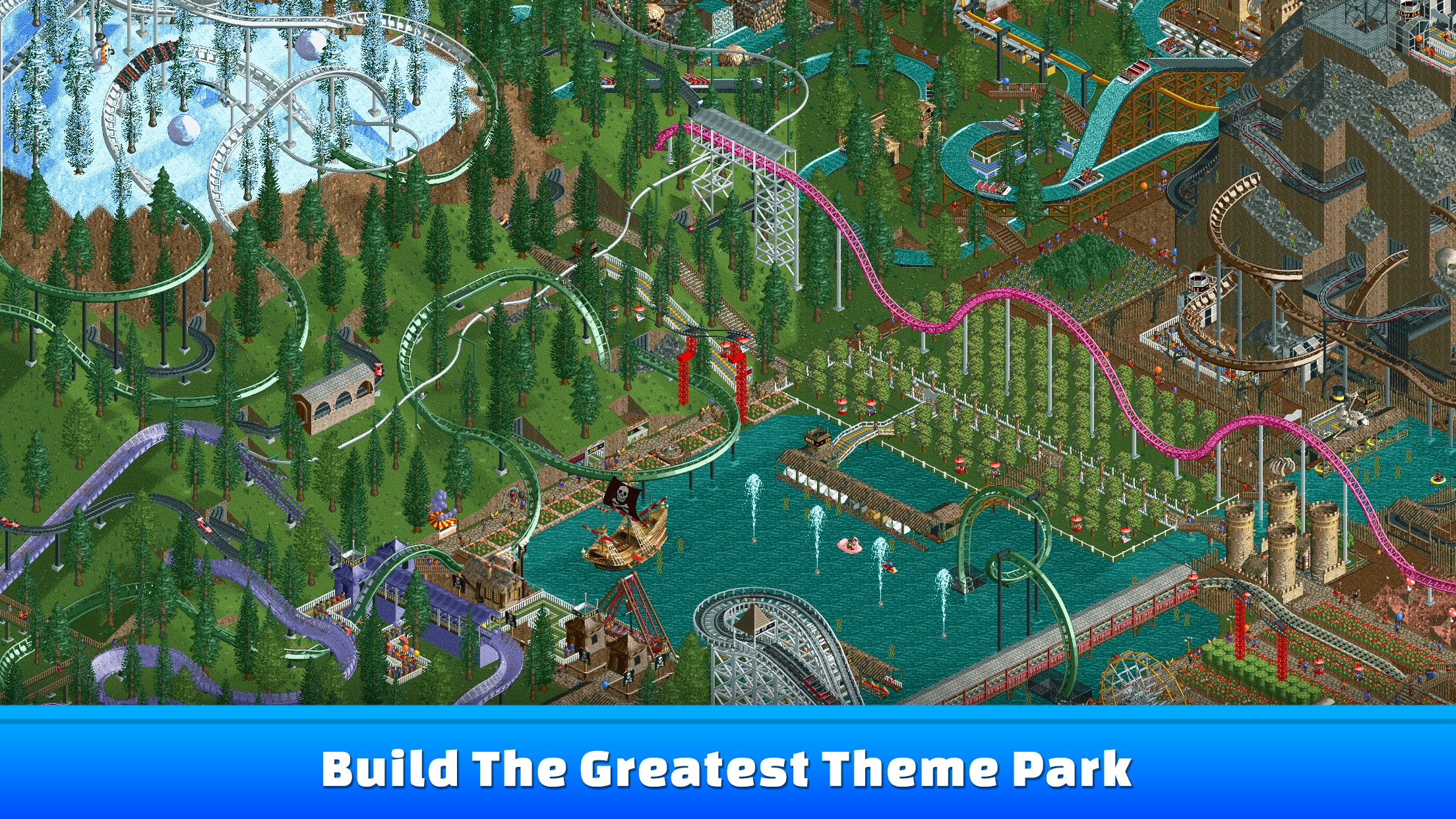 Screenshot do app RollerCoaster Tycoon® Classic