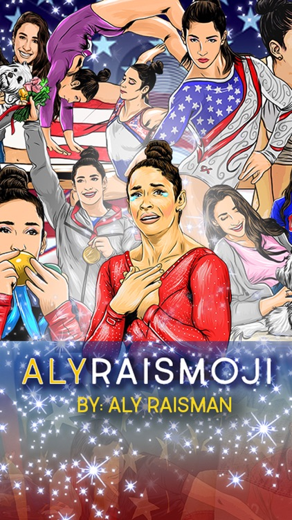 AlyRaismoji by Aly Raisman screenshot-0