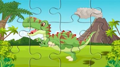 Dinosaur Jurassic Jigsaw Games screenshot two