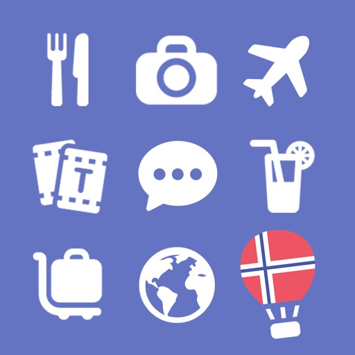 LETS Travel Norway! Norwegian Phrase Guide Book