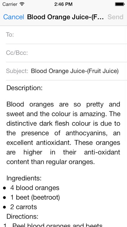 Juice Recipes For Your Fitness