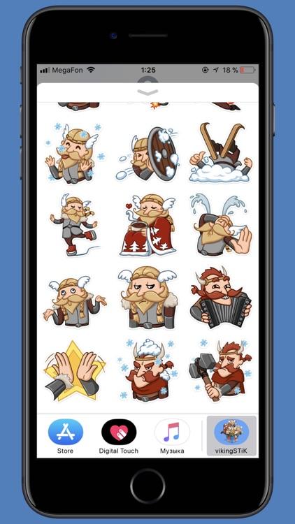 Viking STiK Sticker Pack