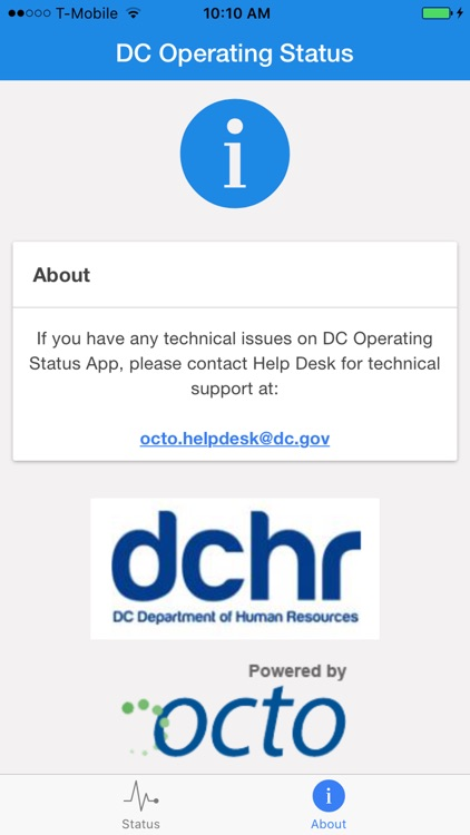 DC Operating Status