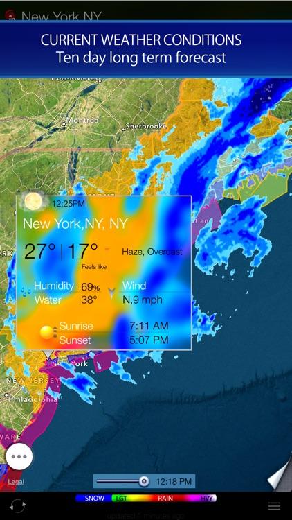 Radar HD - Future NOAA Doppler Weather Radar screenshot-3