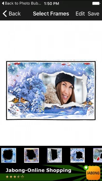 Happy Winter Photo Frames Free Photoshop Effect HD by Mahendra Kumar